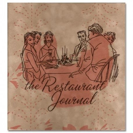 Retro Restaurant Journal-Three Ring Bound for Journaling My Opinions and Reviews