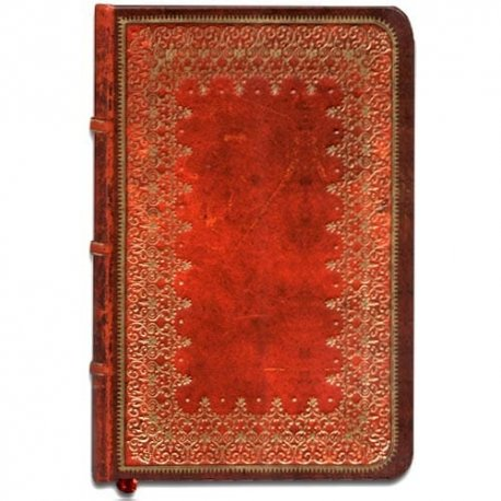 Little Red Book-laid lined paper with gusseted pocket