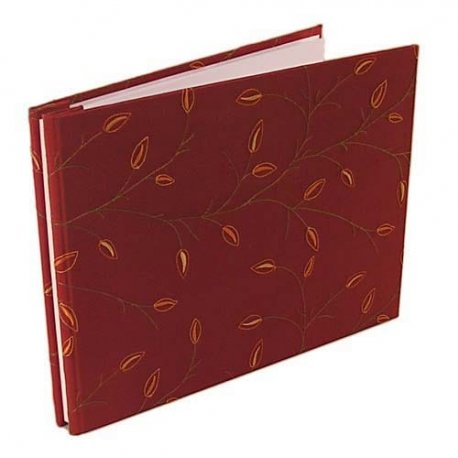Olde Tyme Digital Photo Album - Russet Leaves