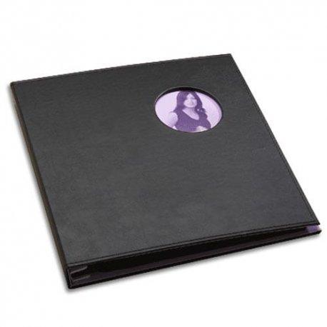 Very Violet Porthole Snapshot Album