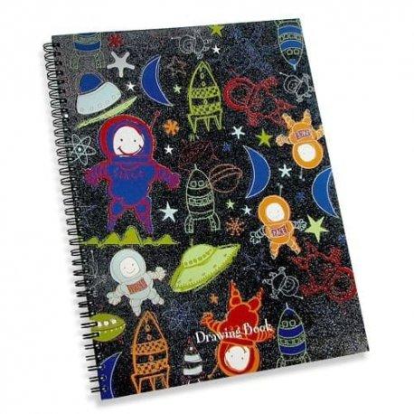 Blastoff Big & Sparkly Drawing Book