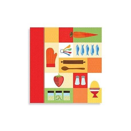Kitchen Collage Recipe Organizer