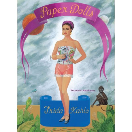 Frida Kahlo Paper Dolls Book