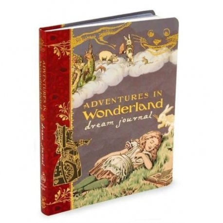 Adventures in Wonderland Dream Journal Lewis Carroll guided theme journal