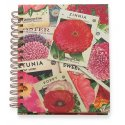 Vintage Seed Packets Hardcover Journal