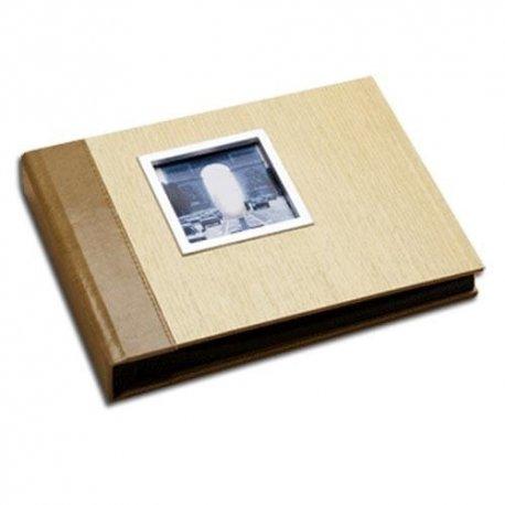 Simple Snapshot Wood Album-9.5x7 holds 80 4x6 photos