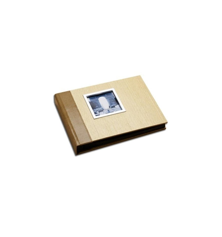Simple Snapshot Wood Album - Medium