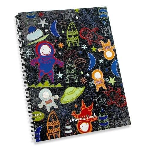 Blastoff drawing book space themed art pad