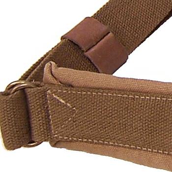 Heavyweight canvas Australian 'Doctors Bag' rugged Leather Brass